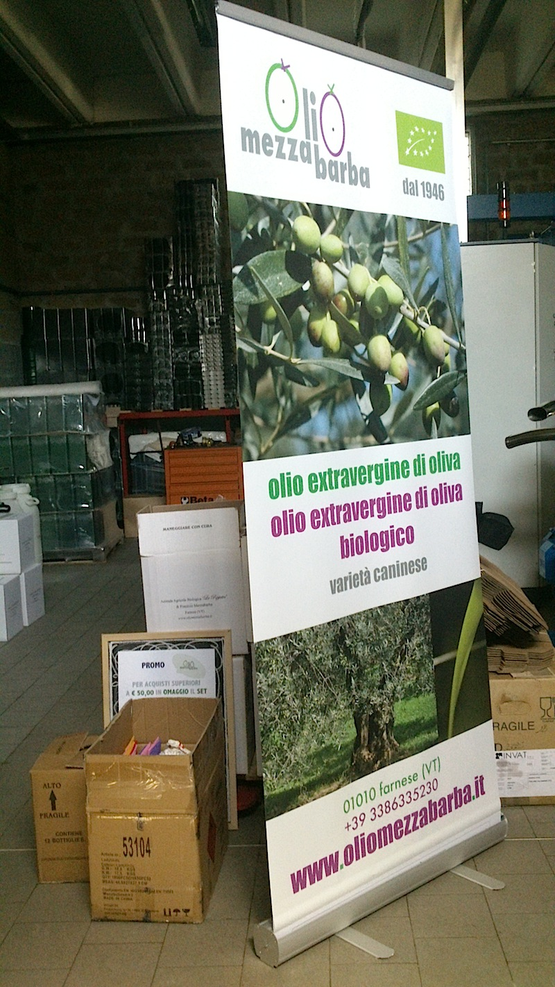 packing Up for Landriana Food Show>>in preparazione per Landriana Food Show